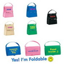 Custom Vivid Foldable Insulared Lunch Bag, 8.5