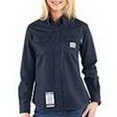 Blank Carhartt Women's Flame Resistant Twill Shirt