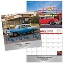 Custom Days Gone By Stitched Wall Calendar, 10.375