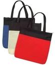 Custom Non Woven Polypropylene Zippered Tote Bag (16