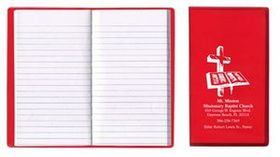 Tally Book w/ Translucent Vinyl Cover, Price/piece