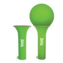 Custom Green Balloon Maracas, 4 1/2