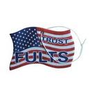 Custom America Flag Air Freshener, 2 3/8