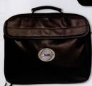 Custom Leatherette Computer Bag w/ Multiple Pocket