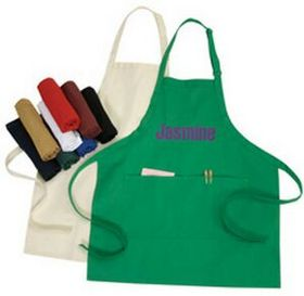 Adjustable 10oz Poly Cotton Apron, Price/piece