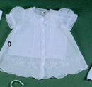 Baby Boutross Cotton Button Front Dress Set With Madeira (6m/12m/18m/24m)