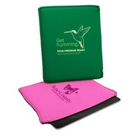 "Neoprene iPad Sleeve - 1 Color, 8 1/2""x10"", Price/piece"