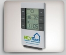 LCD Desk Clock w/Weather Station