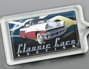 Custom Large Rectangle Acrylic Key Tag, 2