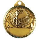Custom Stock Music Round Medallions