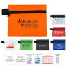 Custom Take-A-Long First Aid Kit #1 w/ Triple Antibiotic Ointment/ Polyester Pouch