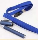 Custom Mini Blue Pen with Lanyard