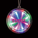 Custom LED Tunnel Necklace, 2 3/8