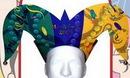 Custom Foam Full Color Mardi Gras/ Jester Headpiece