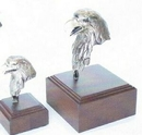 Custom Taking Care of Business II Eagle Head Sculpture (5 1/2