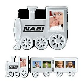 Foldable Aluminum Train Photo Frame (Screened), Price/piece
