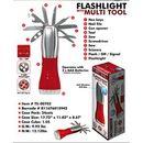 Custom 5 LED Flashlight w/ Multi Function Tools (Laser engraved)