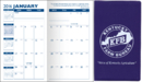 Custom Standard Vinyl Monthly Pocket Planner