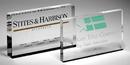 Custom Bradford Clear Rectangle Paperweight - Acrylic (4
