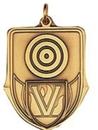 Custom 100 Series Stock Medal (Target) Gold, Silver, Bronze