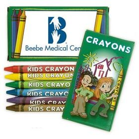 6 Pack Crayons, Price/piece