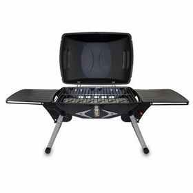 Picnic Time Portagrillo Portable Gas Grill w/ Built-In Igniter & 2 Side Tables, Screen Printed, Price/piece