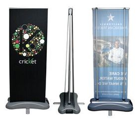 "Banner Stand - Od2 Outdoor Double Sided, 31"" W X 80"" H, Price/piece"
