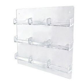"9 Pocket Wall Mount Business Card Holder (13""x11""), Price/piece"