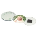 Custom Snap-In Magnetic Disc Picture Frame for 2 1/4