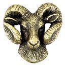 Custom Ram Mascot Fully Modeled 3 Dimensional Pin