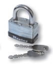 Custom Cleat Box Padlock w/ Keys