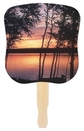 Custom Sunset Stock Design Hand Fan