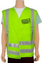 Custom Mesh Safety Vest Rx - Lime Green (2X-Large)