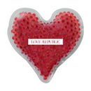 Custom Gel Tekbeads Hot/Cold Pack - Heart Shape, 4