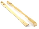 Custom Bamboo Back Scratcher with Smooth Roller Massager