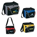 Custom High End Two-Tone 6 Pack Cooler, 9