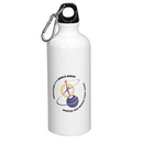 Custom 22 Oz. Full Color Sublimation Aluminum Water Bottle, 3
