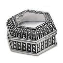 Custom Dot Hexagon Jewelry Box
