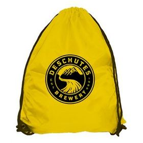Drawstring Backpack w/ 210 Denier Nylon & Reinforced Corners, Price/piece