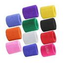 Custom Sport Cotton Wristband, 3 1/8