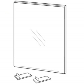 "Vertical Side/ Top Loading Wall Poster Frames (5""x7""), Price/piece"