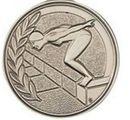 Custom 500 Series Stock Medal (Female Swimmer) Gold, Silver, Bronze