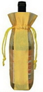 Custom Mesh Drawstring Wine Pouch, 5