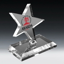 Clear Dancing Star Award - Screen Print