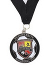 Custom Struck Single Sided 2D Medal (2 3/4