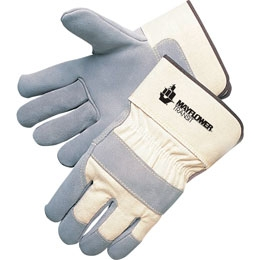 Quality Split Cowhide Palm Gloves, Price/Pair