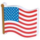 Custom Flag Piece Squeezies Stress Reliever