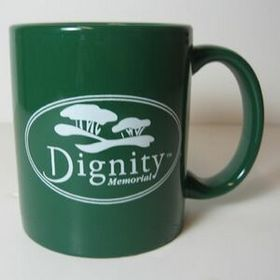 11 Oz Green Ceramic Mug, Price/piece