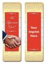 Custom Stock Full Color Digital Printed Bookmark - Thank You