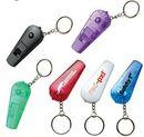 Custom Whistle Light Keyring